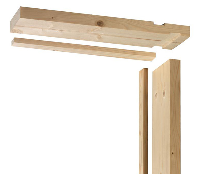 Lining timber